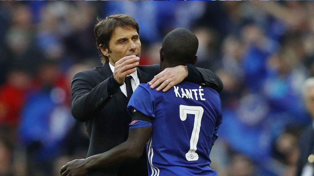 Chelsea, Conte fan absolu de Kanté