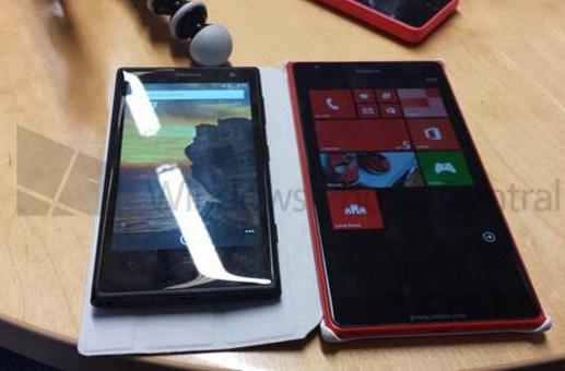 Nokia's giant Lumia 1520 reportedly poses for the camera