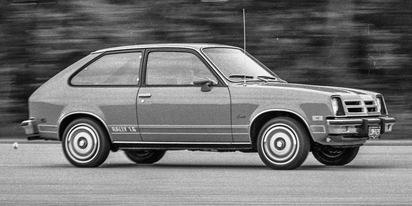 1977 Chevrolet Chevette Shows GM's Efforts to Get Serious About Small Cars