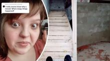 Woman 'moves house' after 'spooky' hidden basement find