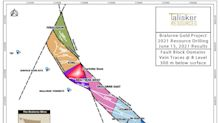 Talisker Intersects 1.17 g/t Gold over 106.75 Metres of Intrusion-Hosted Mineralization in the Pioneer Block at Bralorne