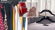Woman's clever Coke can hack could double your wardrobe space