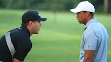 Memorial featured groups: Brooks Koepka with Tiger and Rory, not Bryson