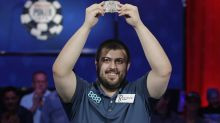 The Latest: New Jersey resident wins World Series of Poker