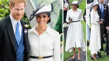 Meghan conforms to royal dress code in $18K outfit at Ascot