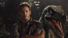 Chris Pratt Chilling With a Dinosaur Will Brighten Up this Horrible Day