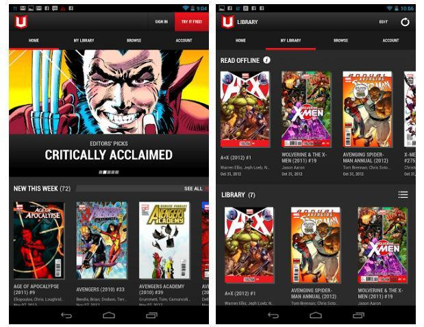 By Odin's beard! Marvel Unlimited comics subscription app now available for Android