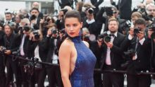 Ultra daring thigh-high split dresses are having a moment at Cannes Film Festival