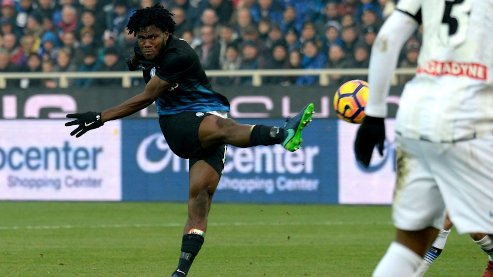 Kessie agent 'listening to all offers' for Atalanta star