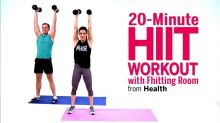 20-Minute HIIT Workout with Fhitting Room