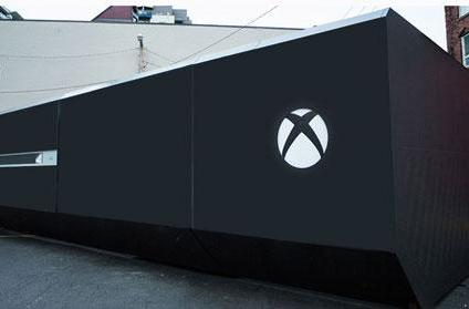 Caption Contest: Giant-sized Xbox One takes over Vancouver parking lot