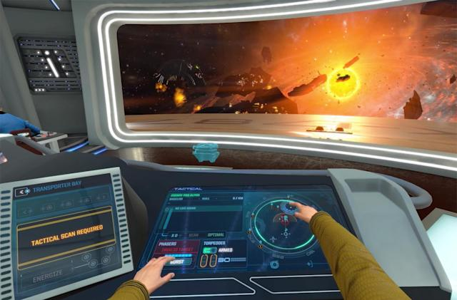 'Star Trek: Bridge Crew' drops its VR headset requirement
