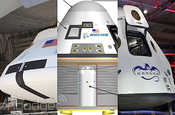 Meet NASA's commercial space capsule contenders