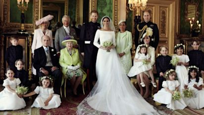 Royal wedding portrait makes history