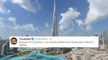Burj Khalifa, Eiffel Tower: What Indians Can 'See' From Noida, Indore as Pollution is Less