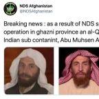Afghan security forces kill senior al Qaeda leader al-Masri