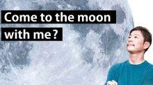 首位民眾SpaceX環繞月球丨日本富豪前澤友作竟公開招女友同行?