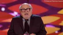 Danny DeVito booed for making awkward Arsenal joke at NTAs