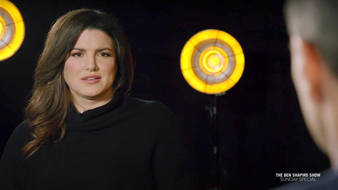 Gina Carano Lashes Out at Disney Over 'The Mandalorian' Firing to New Boss Ben Shapiro