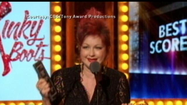 Instant Index: Cyndi Lauper First Woman to Win Solo Tony for Best Score