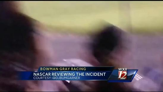 NASCAR looks into Bowman Gray dragging incident