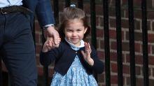 Princess Charlotte Has Her Royal Wave Down