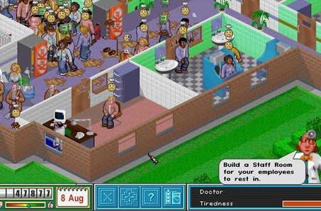 Litter-bomb warning! Theme Hospital is free on Origin