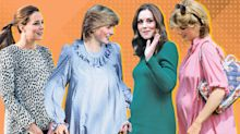 From Diana to Kate: See the royals' best maternity style