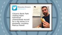 Gottlieb: Marcus Hanel talks Cheesesteak record