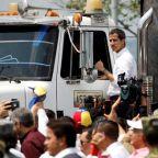 Venezuela humanitarian aid met with teargas and gunfire on borders
