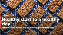Start the day healthy with these 25 breakfast bars