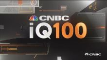 Danaher leading the IQ100 top gainers