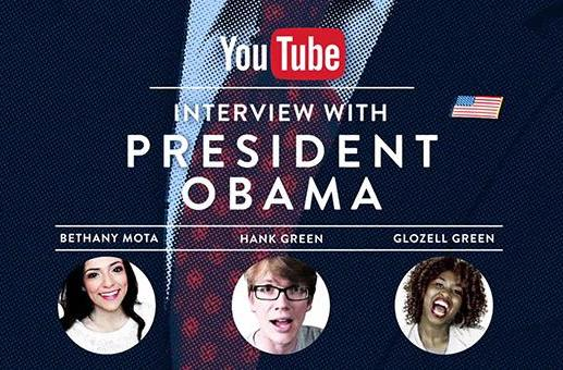 YouTube stars will interview Obama at the White House next week