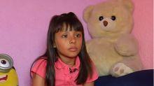 Adhara Pérez, la niña que con ocho años es más inteligente que Einstein y sueña con ser astronauta