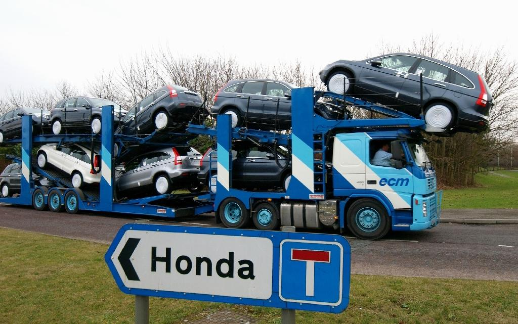 Swindon is heavily reliant on the Honda plant (AFP Photo/MAX NASH)