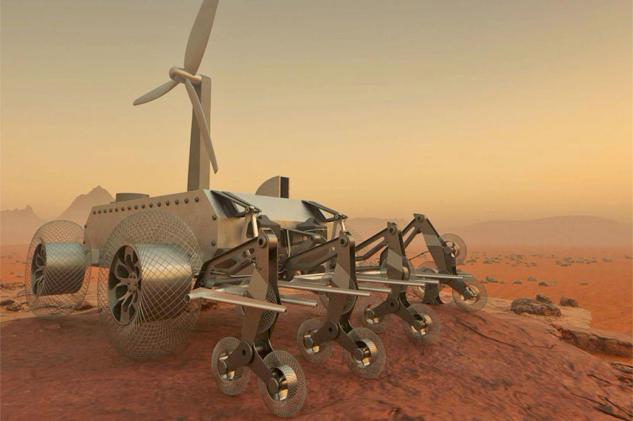 Designers help a rover navigate the crushing furnace of Venus