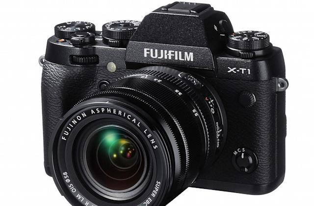 Fujifilm's X-T1 flagship camera gets an infrared edition