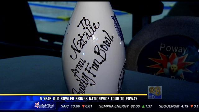 9-year-old bowler brings national tour to Poway