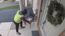 Amazon delivery driver goes viral for unbelievable reaction to customer's gift: 'Get out of here!'