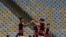 El Atlético Mineiro sigue como único líder en Brasil y el Flamengo se acerca