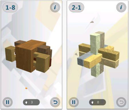 Daily iPhone App: Interlocked puts lots of physical puzzles on a digital touchscreen