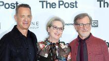 """Spielberg, Meryl Streep e Tom Hanks a difesa della libertà di stampa con """"The Post"""""""