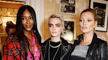Burberry revisits roots for SS18 show, while Naomi, Kate and Cara watch on