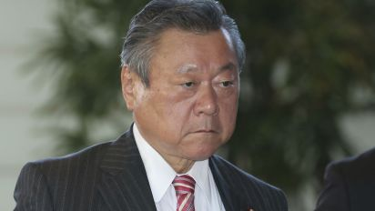 Japanese minister sparks outrage with lateness