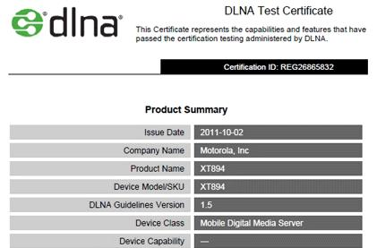 Motorola Droid 4 gains DLNA certification as it slides into Verizon