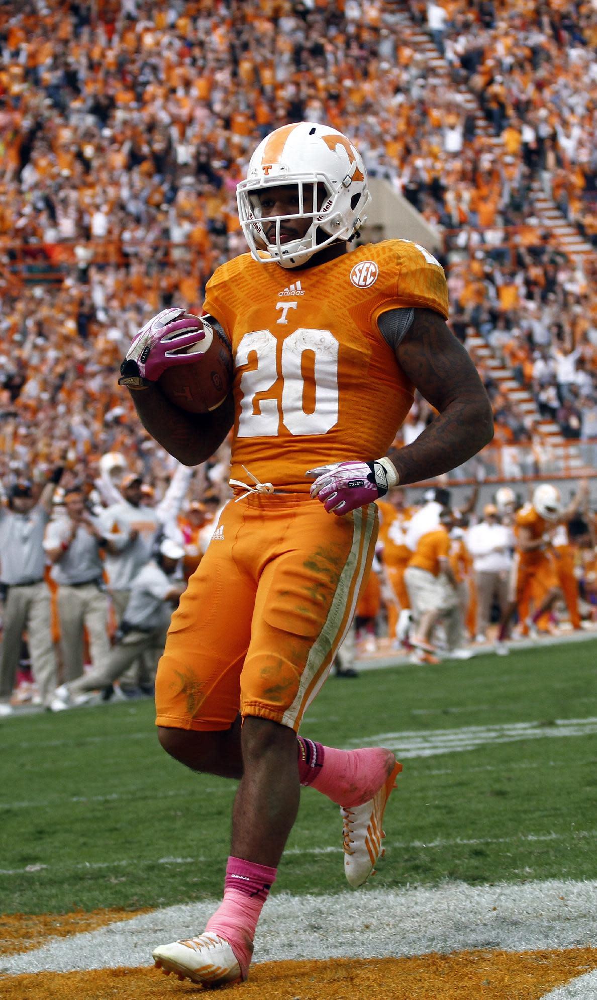 Tennessee to wear all-orange uniforms vs. Alabama (Photos)