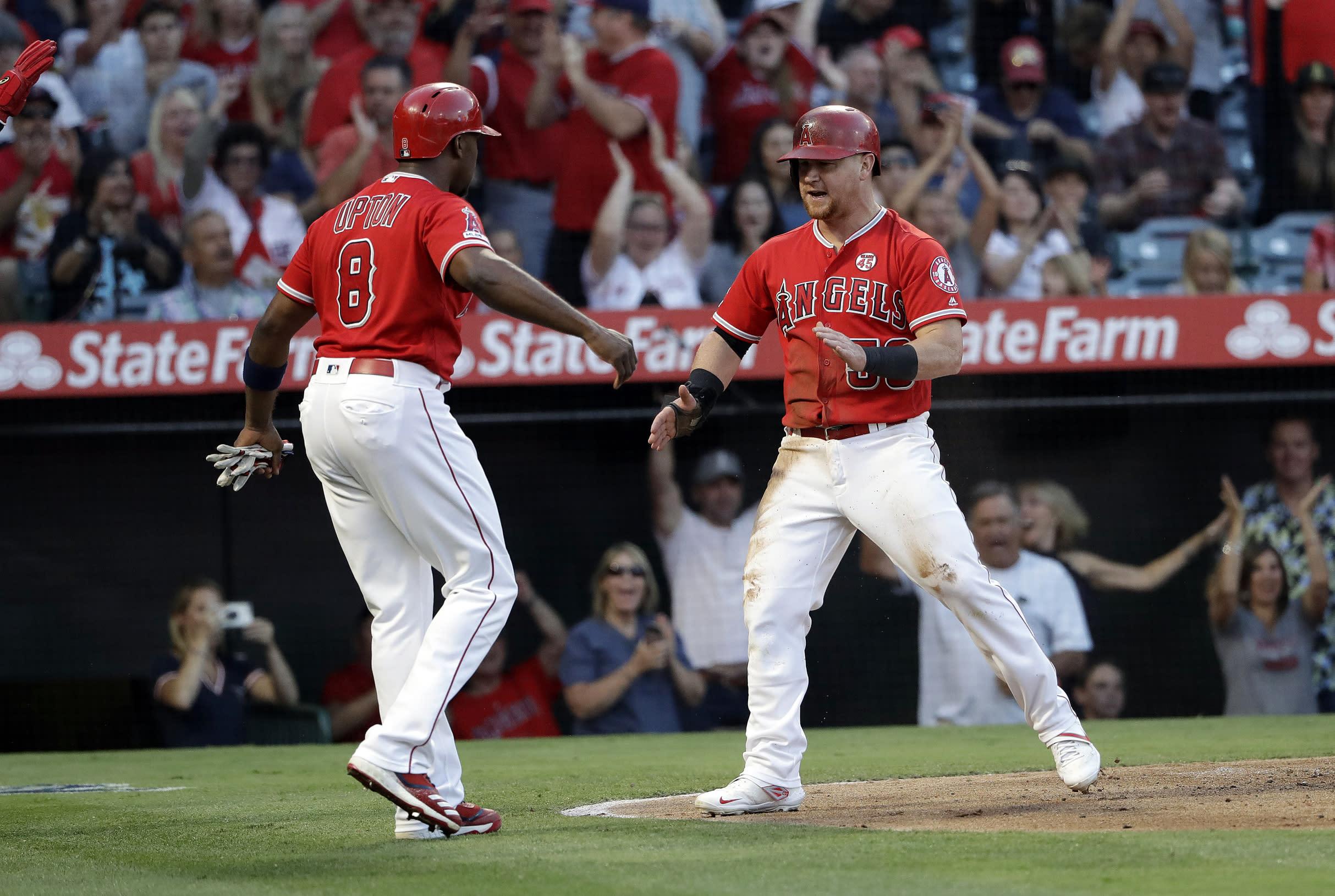Angels' Ramirez, Ausmus suspended after Astros' Marisnick hit by pitch