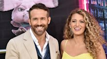 Blake Lively and Ryan Reynolds Share a Rare Selfie in Masks Decorated by Their Daughters