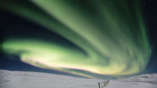 A city in Iceland turned off street lamps to show people the northern lights