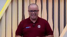 Everaldo comete gafe e cita ESPN em jogo no SporTV e brinca: 'Aconteceu'